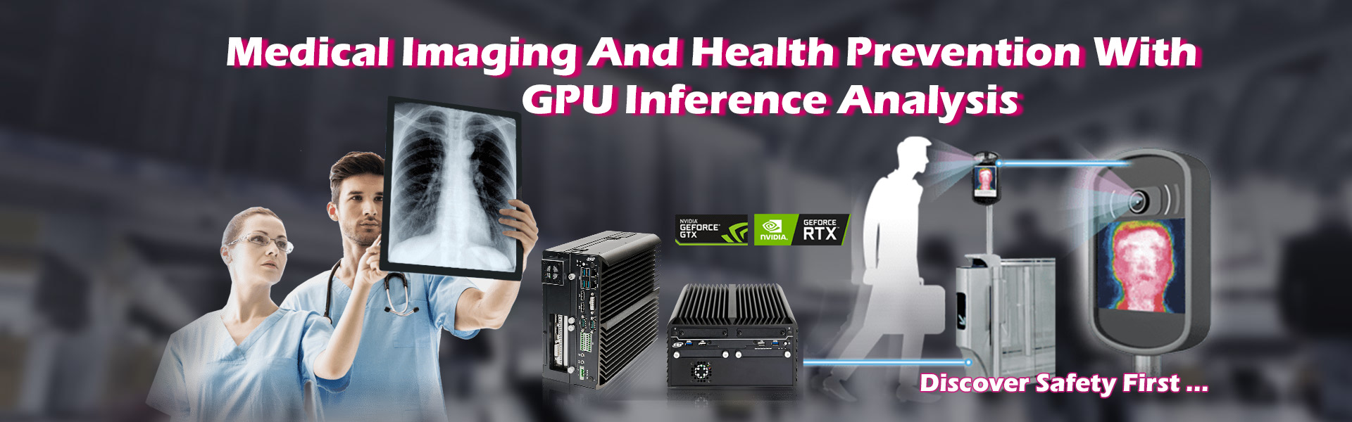 Medical Inference With GPU Edge Computer